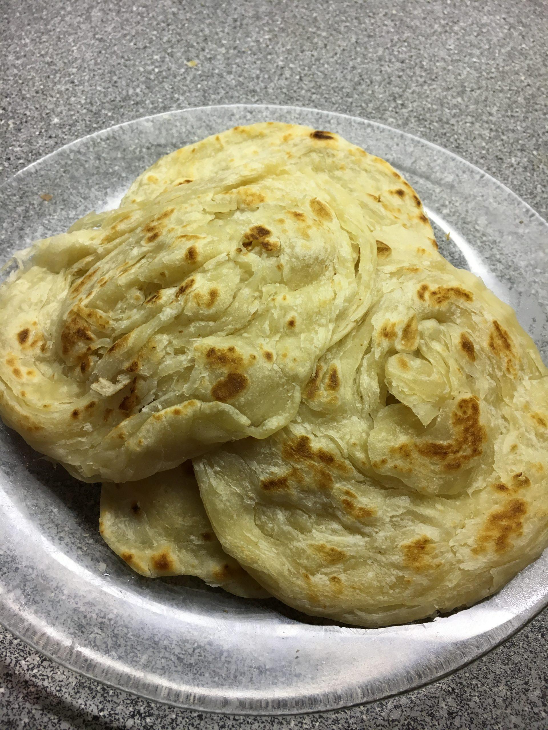 Homemade Kerala Parottas!