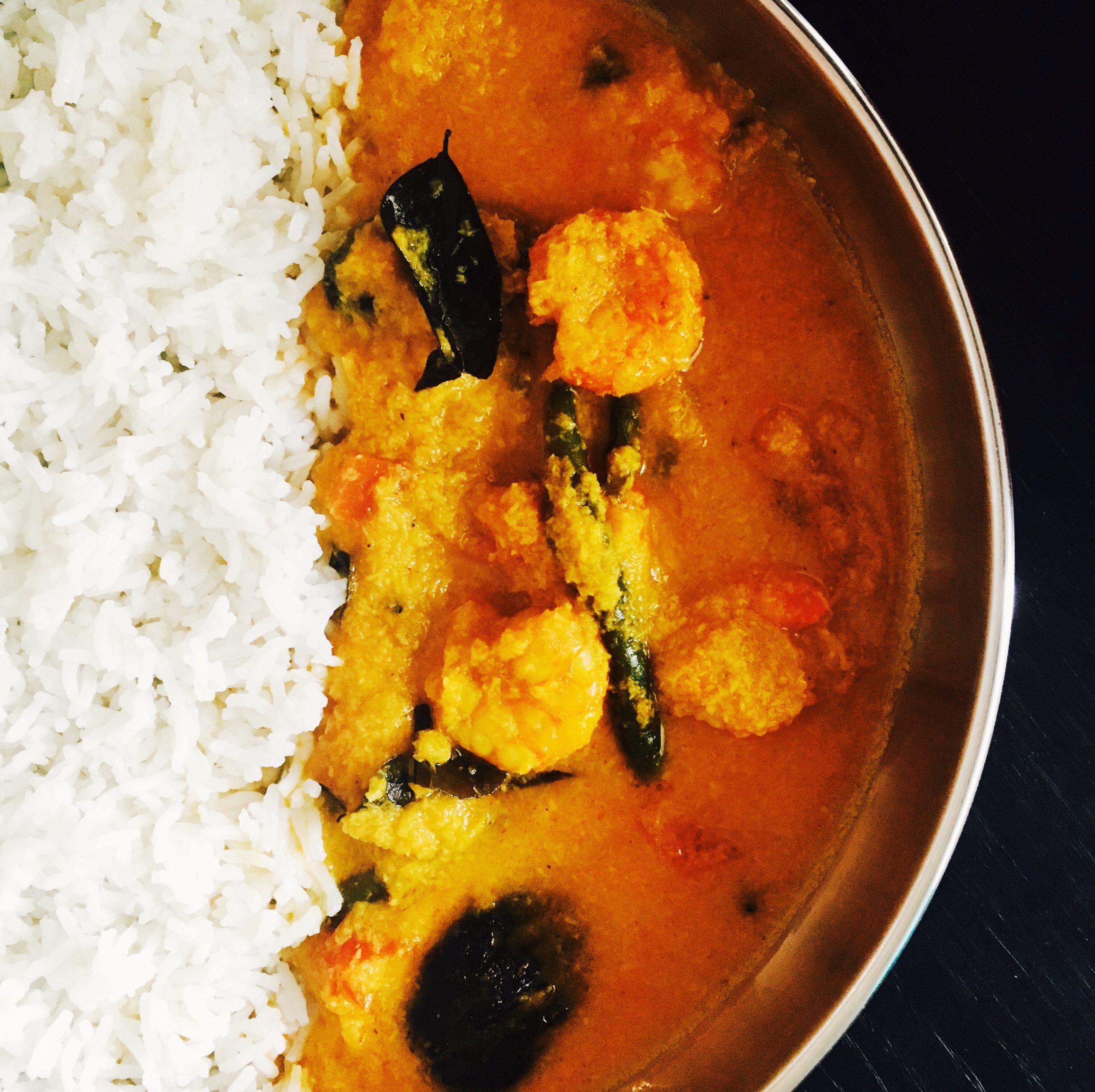 Coastal Style Prawn Curry
