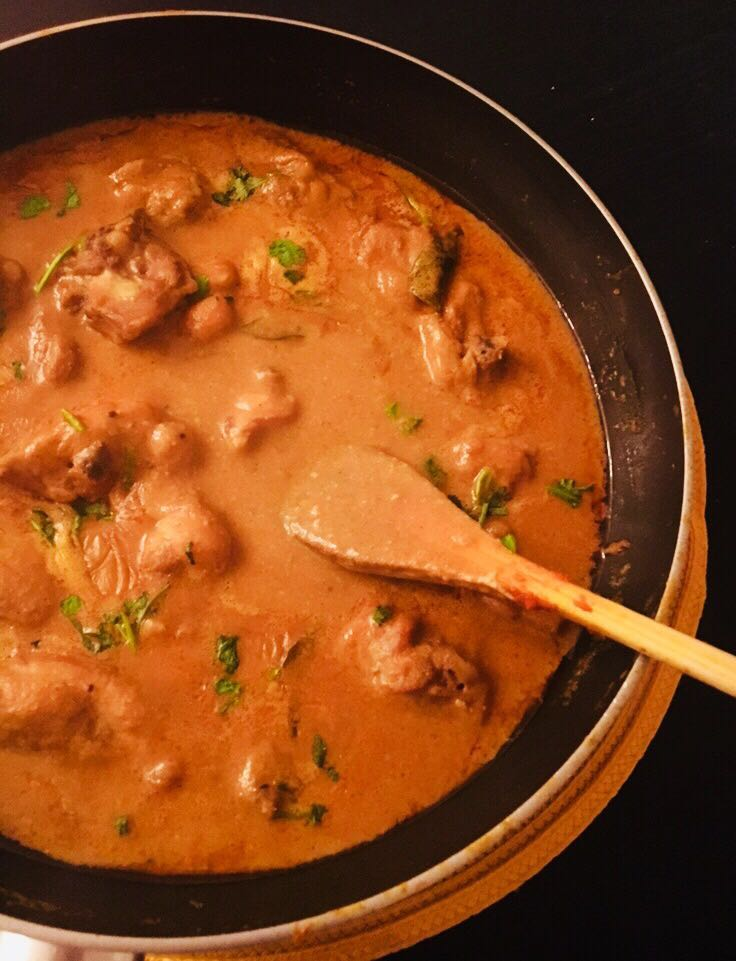 Home-style Chicken Curry