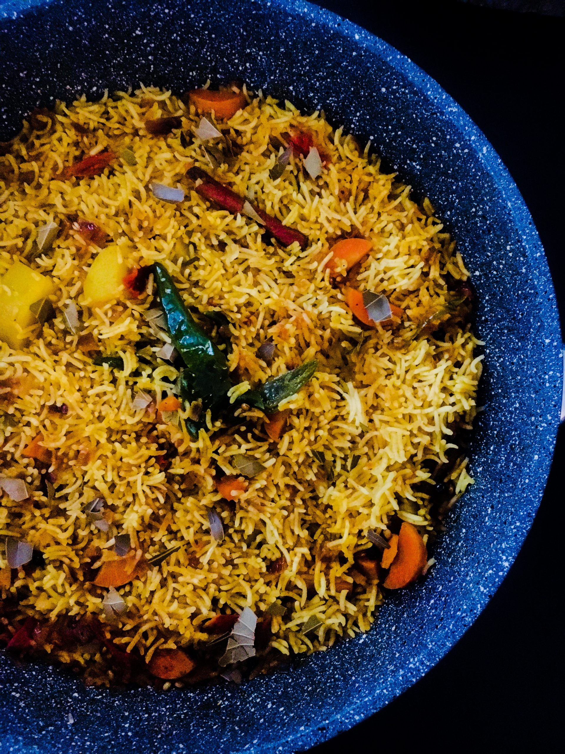 Spicy One Pot Vegetable Pilaf