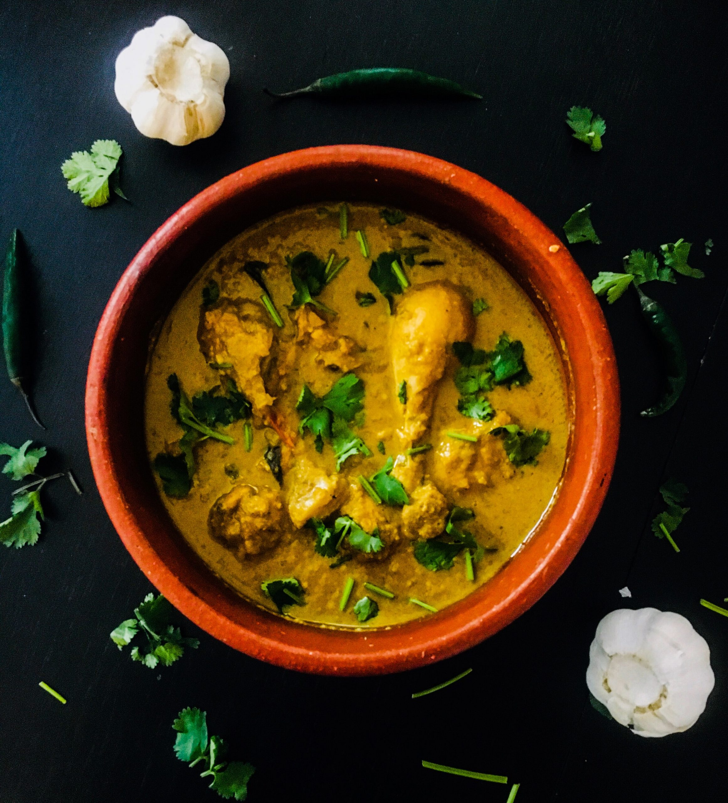 Green Chili and Coconut Chicken Curry