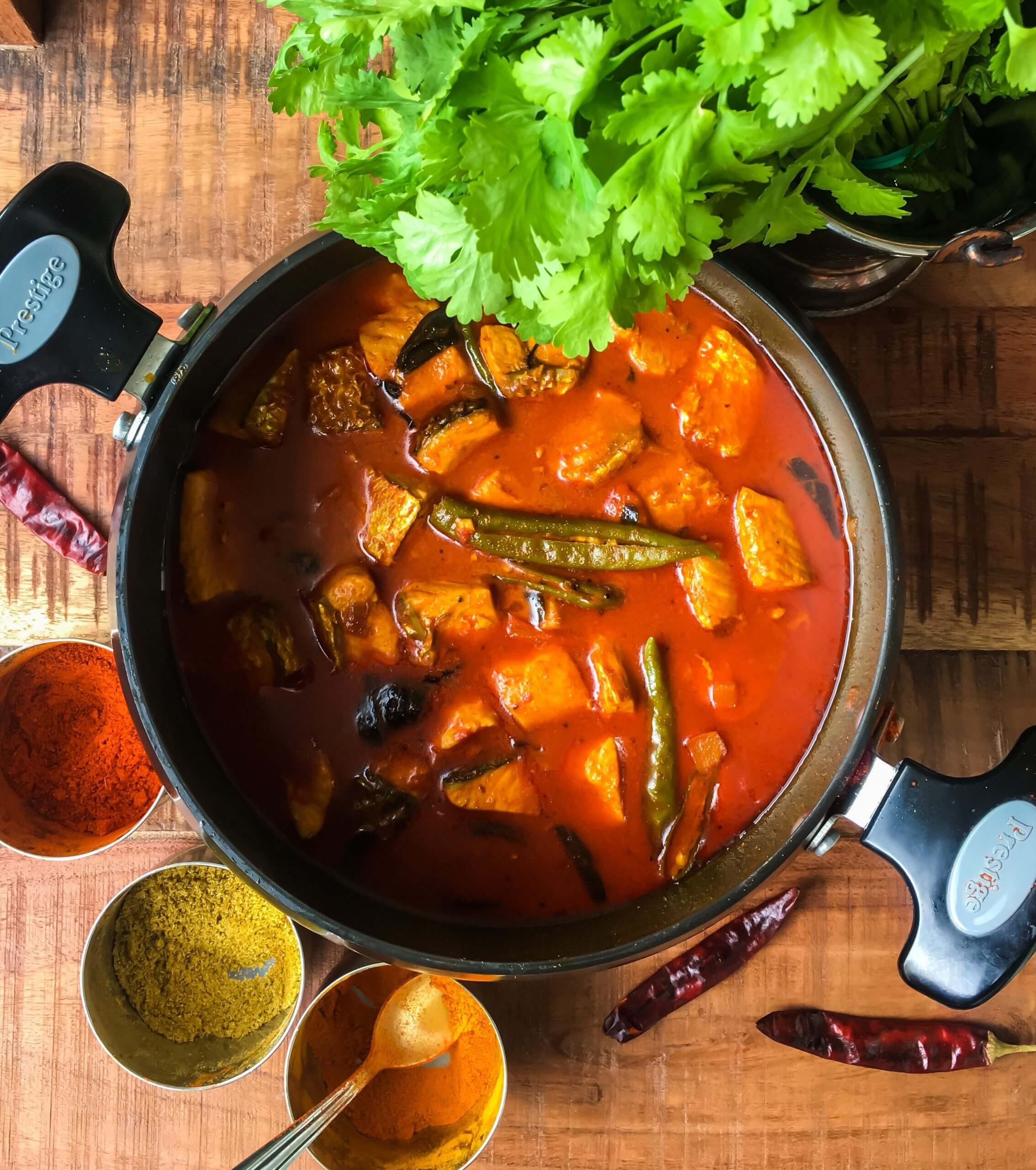 Easy Fish Curry with Coconut Milk